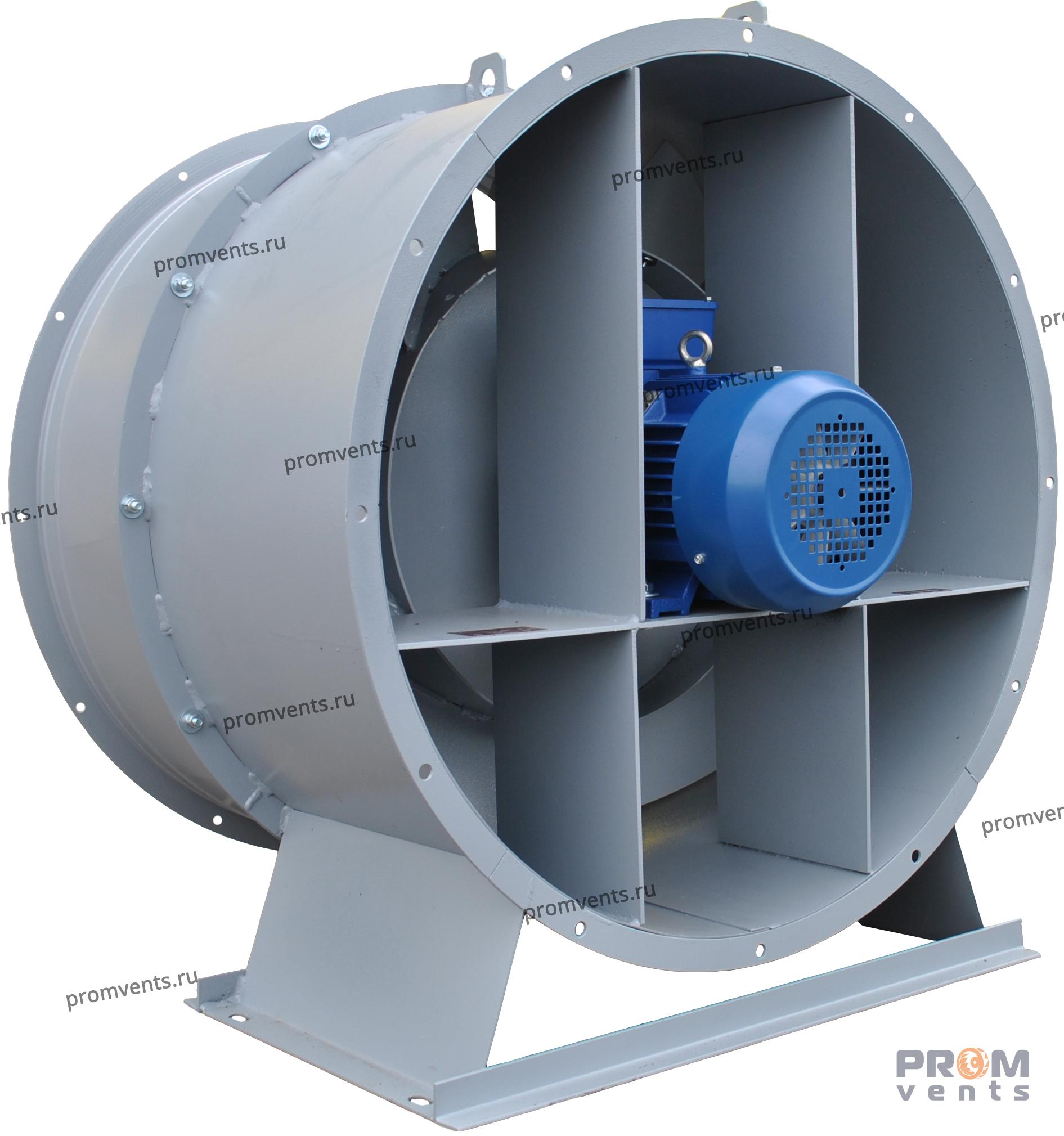 Вентилятор ВО 25-188 №10 15,0 кВт 1500 об/мин (исп. 2, без НА)